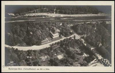 Germany Empire Kaiserpavillon Schultheiss Early Flight Aerial View Flieger 67836