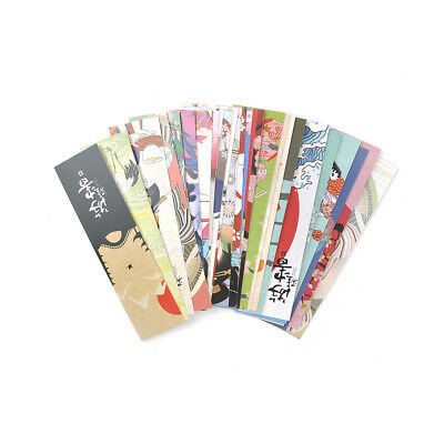 30pcs/lot Paper Bookmark Vintage Japanese Style Book Marks  Kid supplies