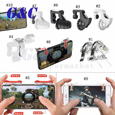 Upgrade Mobile Phone Gaming Trigger Button Aim Shooter PUBG Game Joysticks