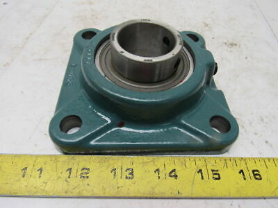 "Dodge 124063 1-7/16"" Bore 4 Bolt Flange Mount Ball Bearing"