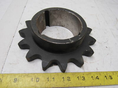 Dodge 100BTB15H #100 Single Strand Roller Chain Sprocket 15T 2717 Bushing Bore