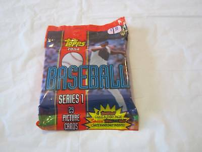 Topps 1994 Series 1 Major League Baseball Cards Unopened Pack Collectible