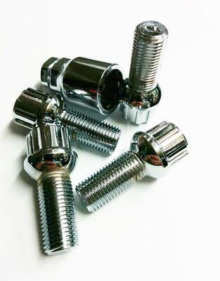 Wheel Nut Bolt Locking Set Replacement 14mm X 1.5mm and Telescopic Wheel Wrench