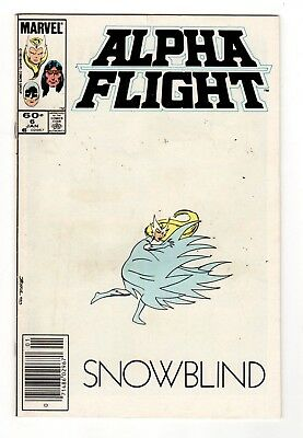 Marvel Comics Alpha Flight #6 Copper Age