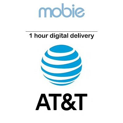 AT&T Prepaid Number for Port - SAME DAY DIGITAL DELIVERY - Phone Numbers