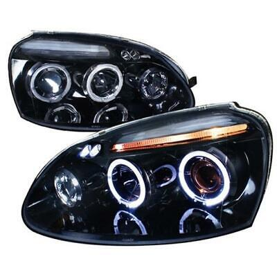 Projector Headlight Gloss Black Housing Smoke Also Fits Gti for 06 to 08 Golf