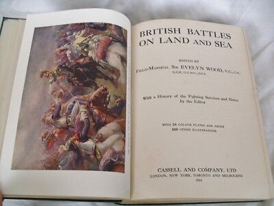 British Battles on Land and Sea Edited by Field-Marshall Sir Evelyn Wood - 1915