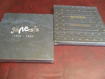 Genesis 1976 - 1982 Vinyl Limited Edition Remastered Rare Box + Phil Collins Box