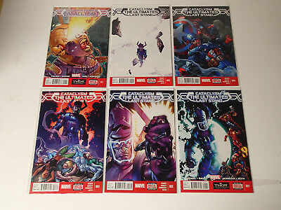 CATACLYSM: Ultimates' Last Stand complete run #1-5+0.1  Marvel Comics 2014 VF FL