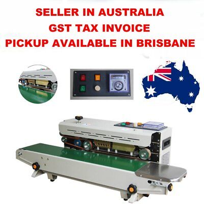AUTOMATIC Plastic Bag Sealing Continuous Packing Packaging Australian Seller GST
