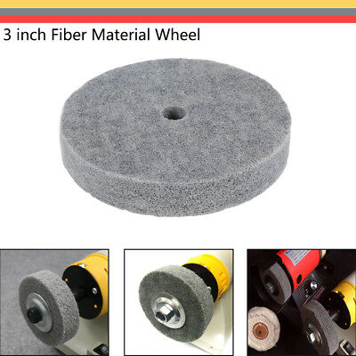 75mm Fiber Polishing Buffing Buffer Pad Grinding Disc Wheel Abrasive Tool