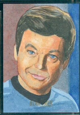 STOS Captain's Collection Sketch Card by Ian Macdougal
