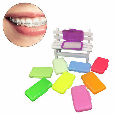 10 Packs Dental Orthodontics Ortho Wax For Teeth Braces Gum irritation