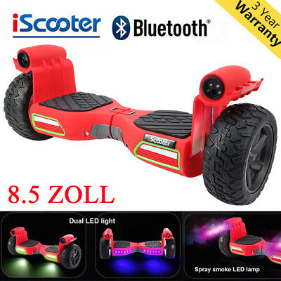 "8.5"" Zoll Self Balance Electric Scooter Hummer Smart Elektroroller OFF-Road"