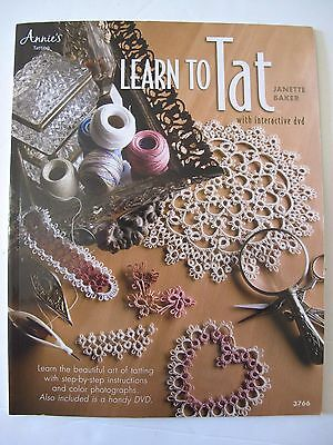 LEARN TO TAT with interactive DVD Written by JANETTE BAKER