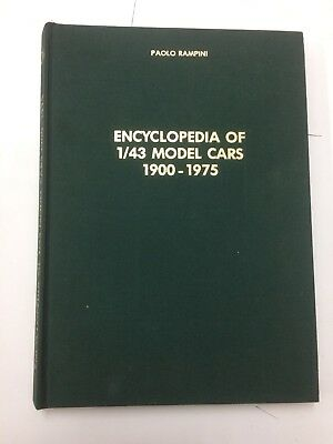 Paolo Rampini Encyclopedia Of 1/43 Model Card 1900 1975