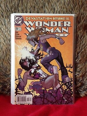 Wonder Woman # 158 Adam Hughes Cover Dc  Comics