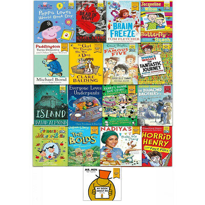 World Book Day Collection 18 Books Set Mr Silly Paddington Brain Freeze Oi Goat