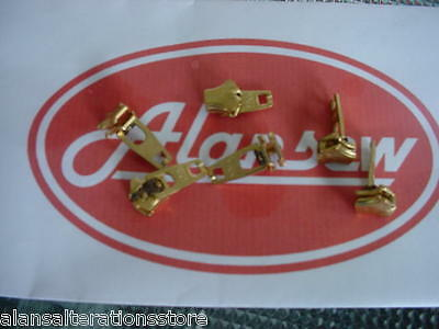 ONE GENUINE YKK BRASS AUTOLOCK No 4 JEAN SLIDER   ( Impossible to find anywhere)