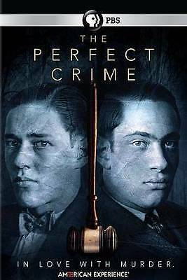 American Experience: The Perfect Crime (DVD, 2016) New