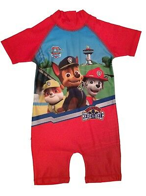 Boys Paw Patrol Swimsuit Swimwear Surf Suit Age 18 Months to 4 Years (PAWS2)