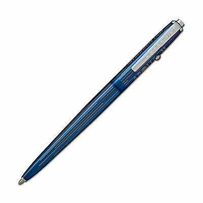 Fisher Space Pen - Astronaut Ballpoint Pen - Blue Titanium - Streaming Stars