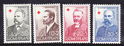 Finland Red Cross 1956 Complete set 567/70 Mint