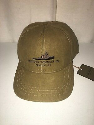 New With Tags Filson Made In Usa Limited Edition Western Towboat Cap One Size