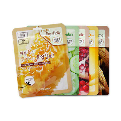 [3W CLINIC] Fresh Mask Sheet - 10pcs