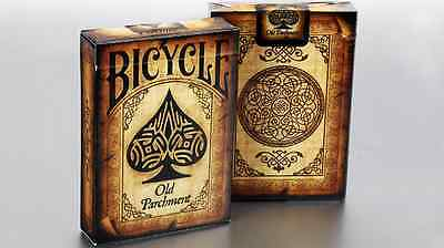 Old Parchment Deck Bicycle Playing Cards Poker Size USPCC Custom Limited Sealed