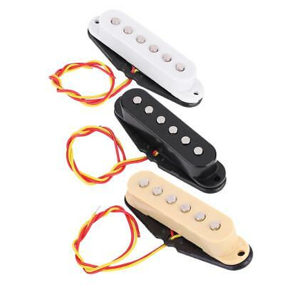 3Color Single Coil Sound Pickup for ST Fender 6String Electric Guitar Harmonious