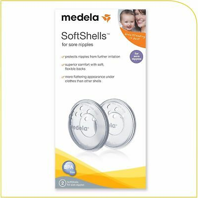 Medela SoftShells Breast Shell Soothers for Inverted Nipples or Sore Nipples