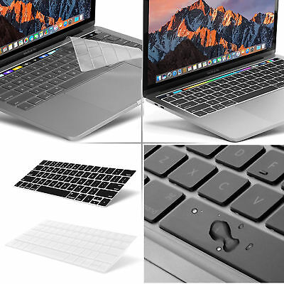 "For Macbook Pro 13/15"" Silicone Laptop Keyboard Cover Skin With Touch Bar (2018)"