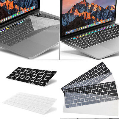 """For Macbook Pro 13/15"""" with Touch Bar (2016) Silicone Laptop Keyboard Cover Skin"""