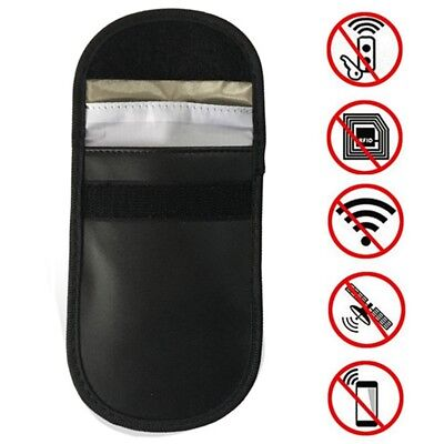 2 x Car Key Signal Blocker Case Faraday Cage Fob Pouch Keyless RFID Blocking Bag