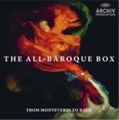 The All-baroque Box  CD NEW