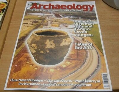 British Archaeology magazine Sep/Oct 2018 Tales of the A14, Villages Kilns &more