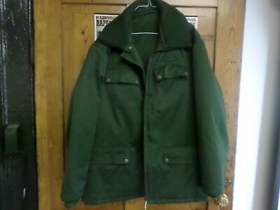 German Grenztruppen Heavy Jacket With Liner- Marked Wispo And Goretex -Xl Size