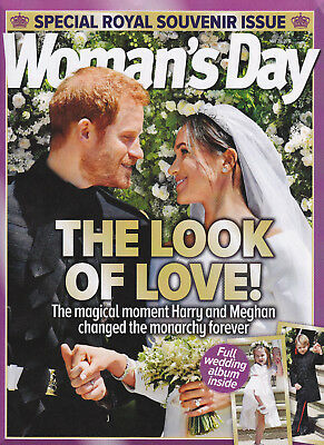 Collectable ~ Harry & Meghan Wedding Booklet, Diana Princess Of Wales & Family