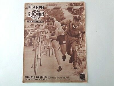 *Rare Vintage 1950s Miroir Des Sports - French Cycling Magazine - 2nd June 1952*