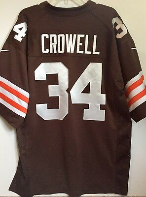 NWT CLEVELAND BROWNS Baby Jersey Crowell 18M $14.00 | PicClick  for sale