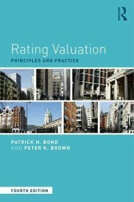 Rating Valuation Principles and Practice by Patrick H. Bond 9781138688896