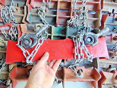 """WELDING PIPE CLAMP CHAIN VICE JEWEL No. 1D Pipe Welding Clamp, Straight 15"""" long"""