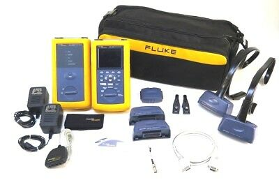 Fluke DSP-4300 Digital Cable Analyzer and DSP-4300SR & Accessories