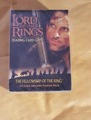 Lord Of The Rings Tcg - The Fellowship Of The Ring - Aragorn Starter Deck