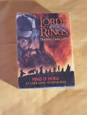 Lord Of The Rings Tcg - The Mines Of Moria - Gimli Starter Deck