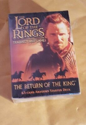 Lord Of The Rings Tcg - The Return Of The King - Aragorn Starter Deck