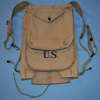 R.I.A. 1917 Canvas Backpack w/ Mess Bag