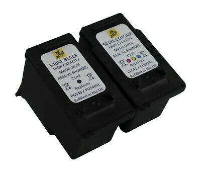 PG540XL Black & CL541XL Colour Ink Cartridge For Canon PIXMA MG3150 Printer