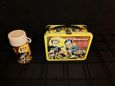 The Man from U.N.C.L.E. Metal Lunchbox with Thermos 1966 King-Seeley (390)